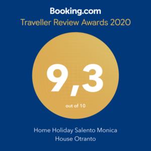 award monica house otranto booking
