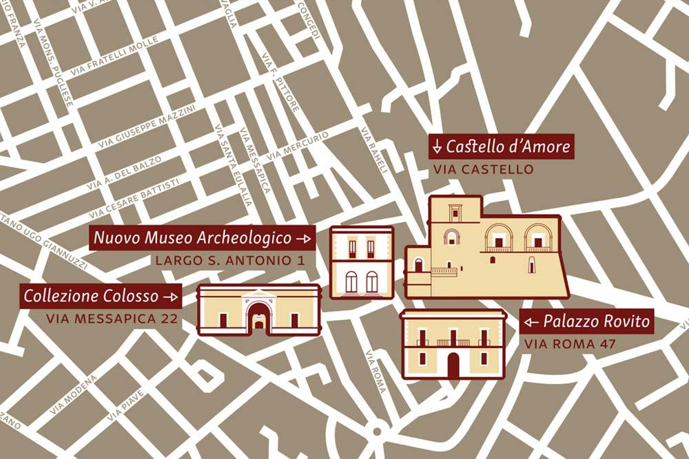 nuovo portale museo archeologico casa vacanze la scisa appartamenti nel salento